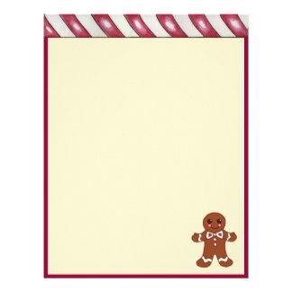 Christmas Gingerbread Letterhead