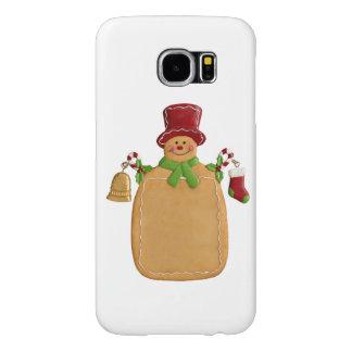 Christmas Gingerbread Man Samsung Galaxy S6 Case