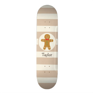 Christmas Gingerbread Man Skate Boards