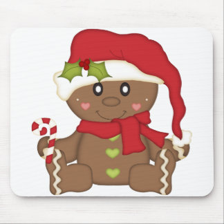 Christmas Gingerbread Mouse Pad
