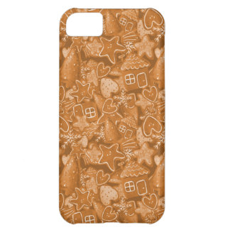 Christmas Gingerbread Pattern Case For iPhone 5C