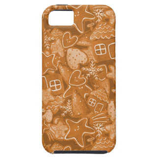 Christmas Gingerbread Pattern iPhone 5 Cover