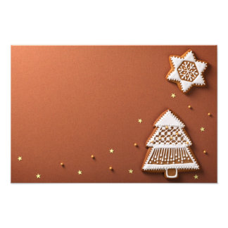 Christmas Gingerbreads Composition Art Photo