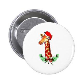 Christmas Giraffe Pins