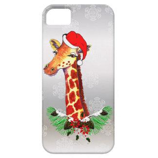 Christmas Giraffe iPhone SE/5/5s Case