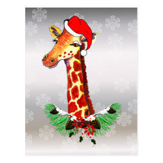 Merry Giraffe Cards - Invitations, Greeting & Photo Cards | Zazzle