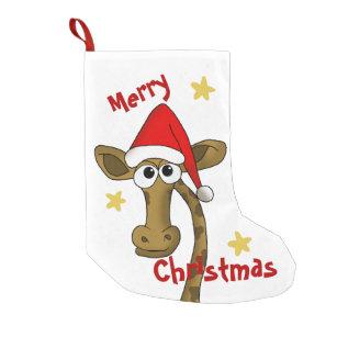 Christmas Giraffe Gifts On Zazzle
