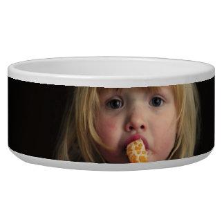 Christmas girl - christmas child - cute girl bowl