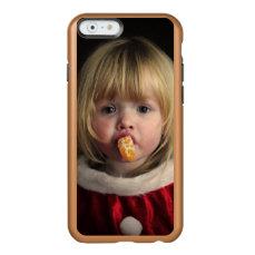 Christmas girl - christmas child - cute girl incipio feather shine iPhone 6 case