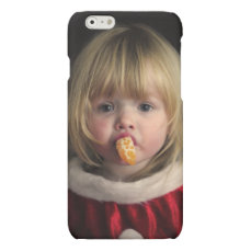 Christmas girl - christmas child - cute girl matte iPhone 6 case