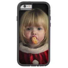 Christmas girl - christmas child - cute girl tough xtreme iPhone 6 case