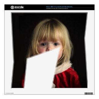 Christmas girl - christmas child - cute girl xbox 360 s decals