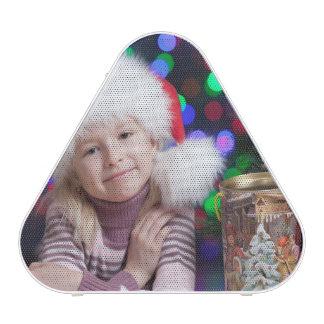 Christmas girl - little girl - christmas child bluetooth speaker