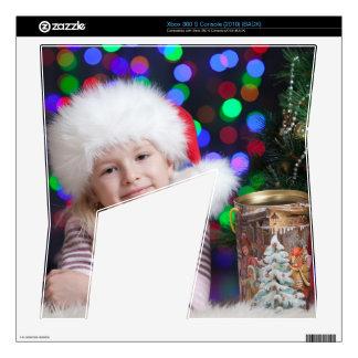 Christmas girl - little girl - christmas child xbox 360 s skin