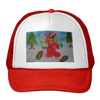 CHRISTMAS GIRL RUNNING HAT