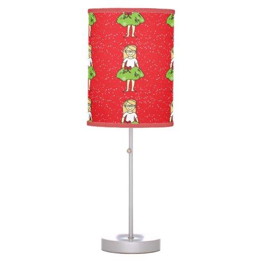 Christmas Girl Table Lamp