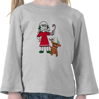Christmas Girl Tee Shirt