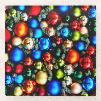 Christmas Glass Coaster