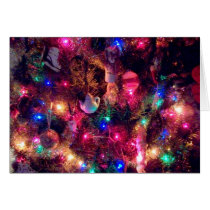 'Christmas Glow' Holiday Card - Blank