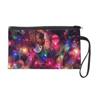 'Christmas Glow''  Wristlet Purse