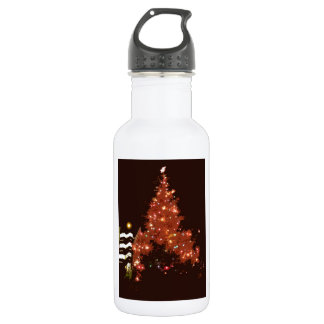 Christmas Glowing Stainless Steel Water Bottle