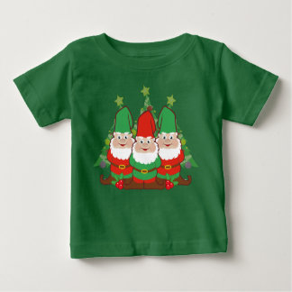 Christmas Gnomes Baby T-Shirt