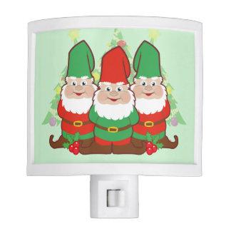 Christmas Gnomes Night Light