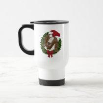 Christmas Goat Travel Mug