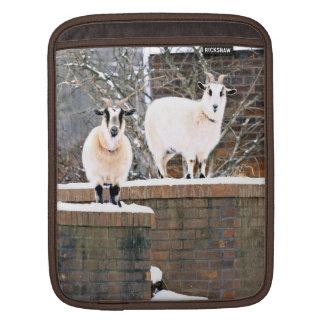 Christmas Goats iPad Sleeve