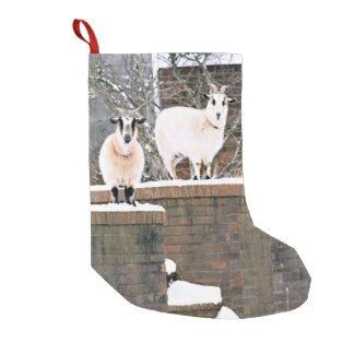 Christmas Goats Small Christmas Stocking