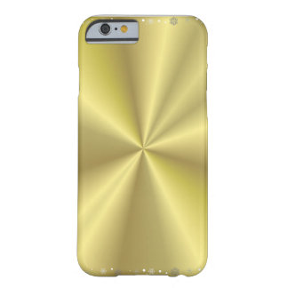 Christmas Gold I phone 6 Barely There iPhone 6 Case