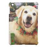 Christmas - Golden Retriever - Abby Cover For The iPad Mini