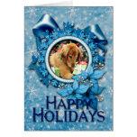 Christmas - Golden Retriever - Addison Greeting Card