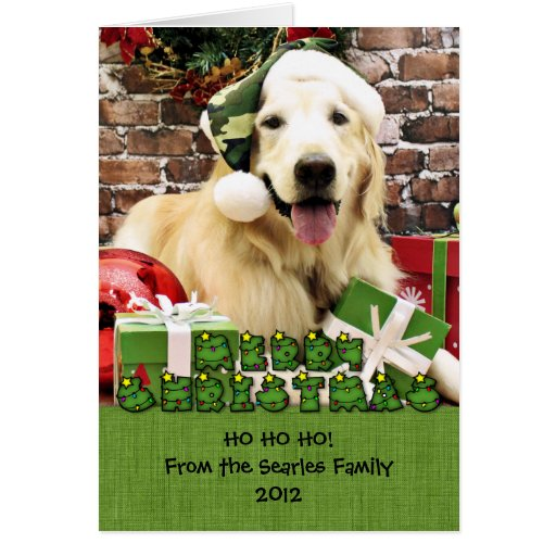Christmas - Golden Retriever - Hudson Greeting Card