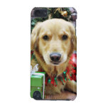 Christmas - Golden Retriever - Iris iPod Touch 5G Cover