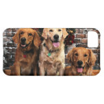 Christmas Golden Retriever Packer Bella Darby #50 iPhone 5C Covers