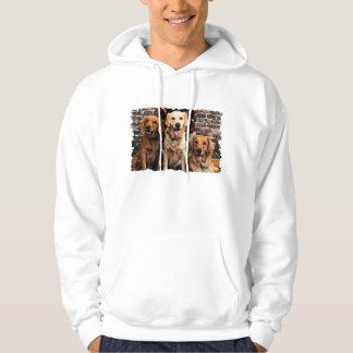 Christmas Golden Retriever Packer Bella Darby #50 Hooded Sweatshirts