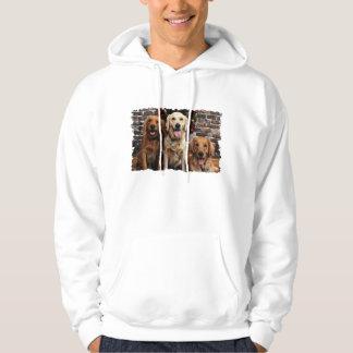 Christmas - Golden Retriever - Packer Bella Darby Sweatshirt