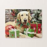Christmas - Golden Retriever - Penuche Puzzles