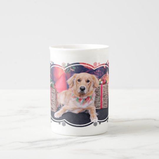 Christmas - Golden Retriever - Sammie Tea Cup