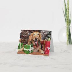Little Golden Christmas card