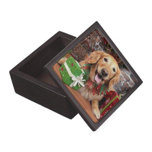 Christmas - Golden Retriever - Sidney Premium Gift Boxes