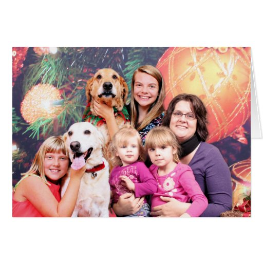 Christmas Golden Retriever Wrigley - Labrador Ally Card