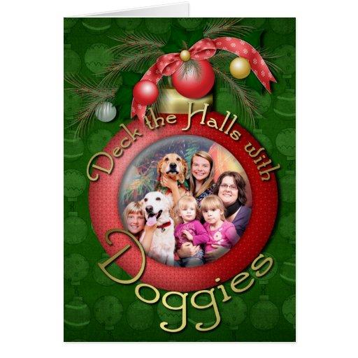 Christmas Golden Retriever Wrigley - Labrador Ally Greeting Card