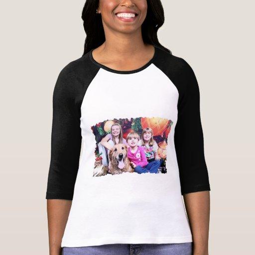 Christmas - Golden Retriever - Wrigley T-shirt