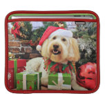 Christmas - GoldenDoodle - Bella Sleeves For iPads