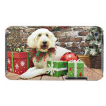 Christmas - GoldenDoodle - Biscuit Case-Mate iPod Touch Case