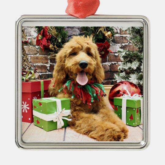Labradoodle Christmas Ornaments