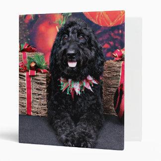 Christmas - GoldenDoodle - PJ Binder