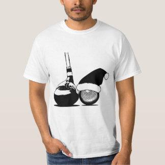 Christmas Golf Club and Ball T-Shirt